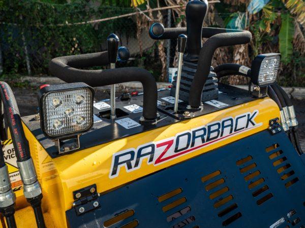 Razorback Mini Skid Steer Loader 10