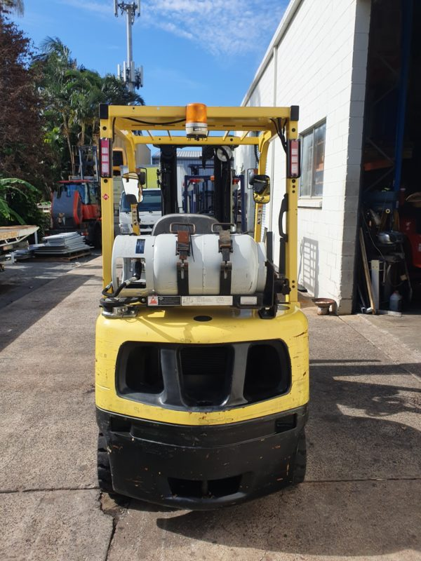 Hyster used forklift - H2.0TXS w/ Sideshift & Fork Positioner 3