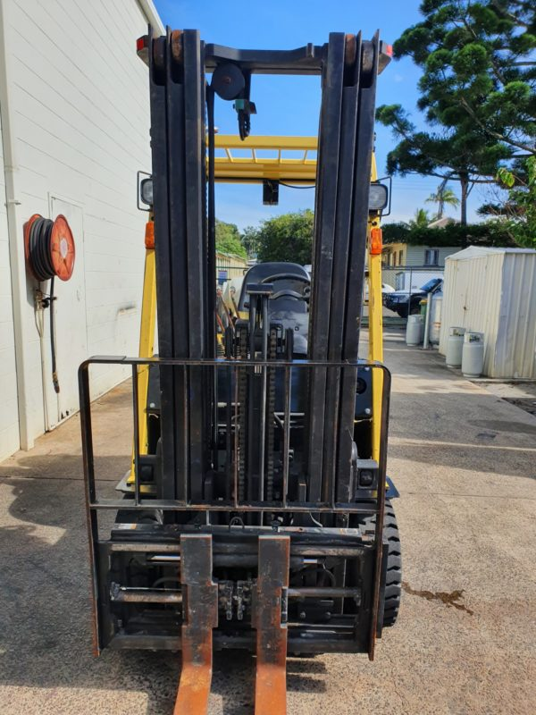 Hyster used forklift - H2.0TXS w/ Sideshift & Fork Positioner 4