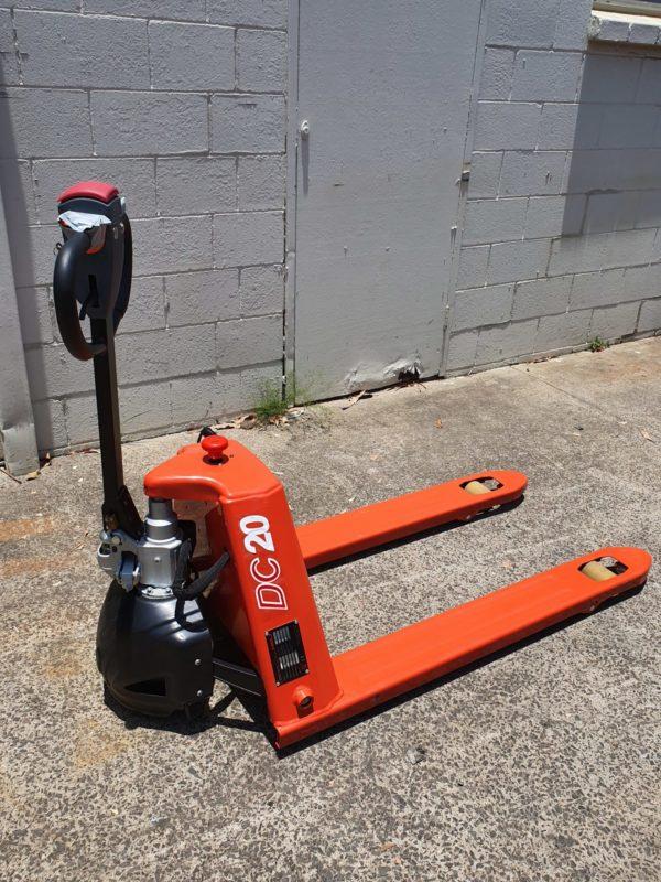 Heli Semi Electric Pallet Jack - Narrow (CBD20J-B) 4