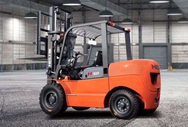 Heli H3 Series 4-5T Dual fuel or LPG Forklift 1