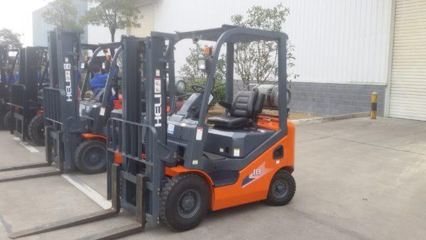 Heli H3 Series 1-1.8T Dual fuel or LPG Forklift 4