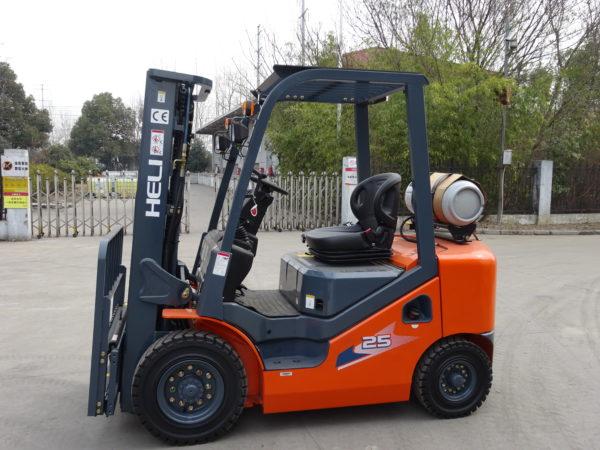 Heli H3 Series 2-2.5T Dual fuel or LPG Forklift 3