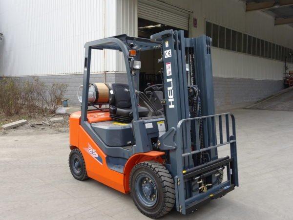 Heli H3 Series 2-2.5T Dual fuel or LPG Forklift 4