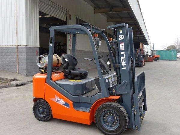 Heli H3 Series 2-2.5T Dual fuel or LPG Forklift 1