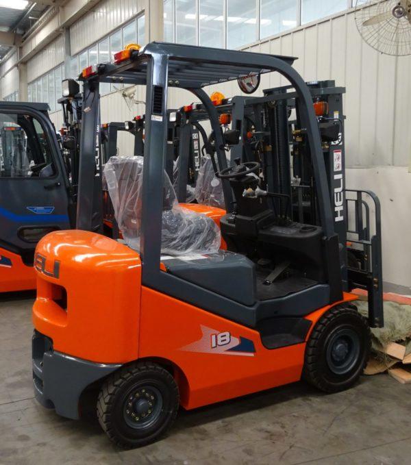 Heli H3 Series 1-1.8T Dual fuel or LPG Forklift 1