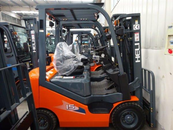 Heli H3 Series 1-1.8T Dual fuel or LPG Forklift 2
