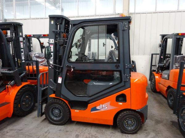 Heli H3 Series 1-1.8T Dual fuel or LPG Forklift 3