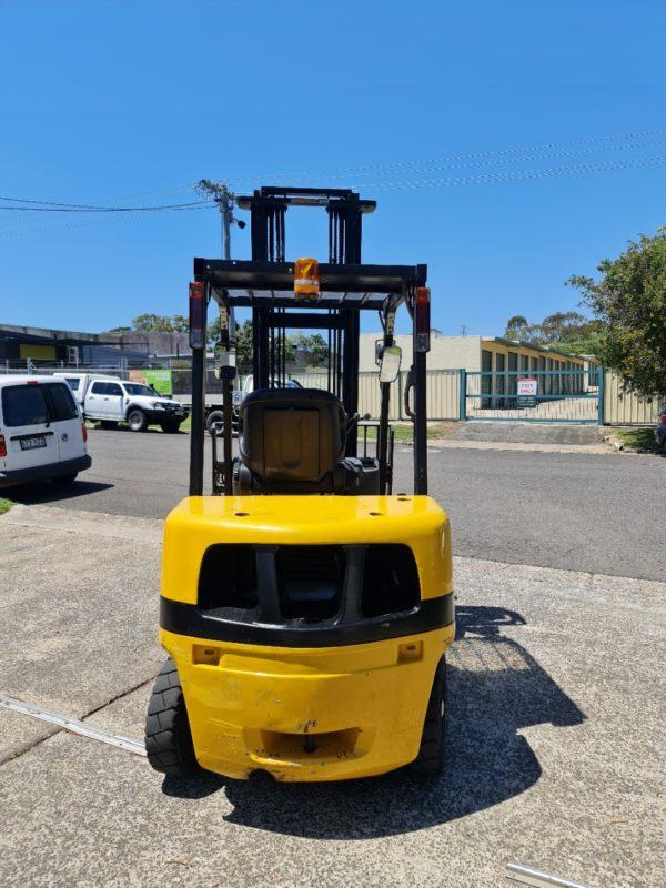 Yale 2.5T Diesel Used Forklift - GDP2.5TK w/ Sideshift & Fork Positioner 6