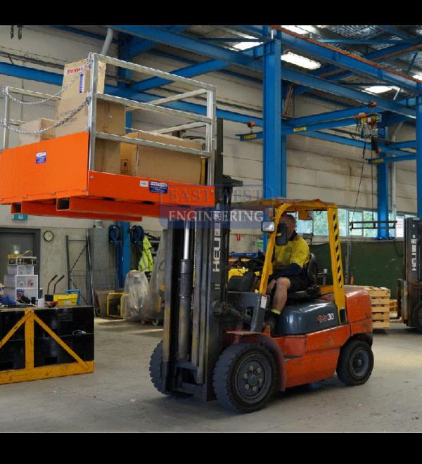 Forklift Goods Cage - FGC15 4