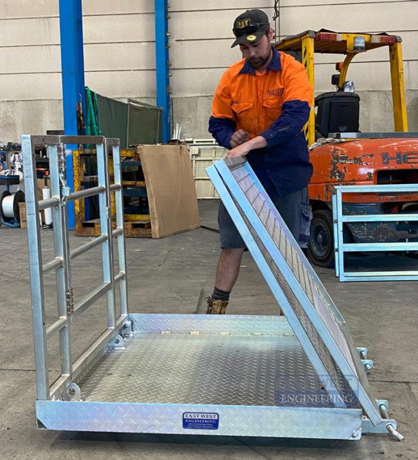 Collapsible Forklift Work Platform - FWP25C 4