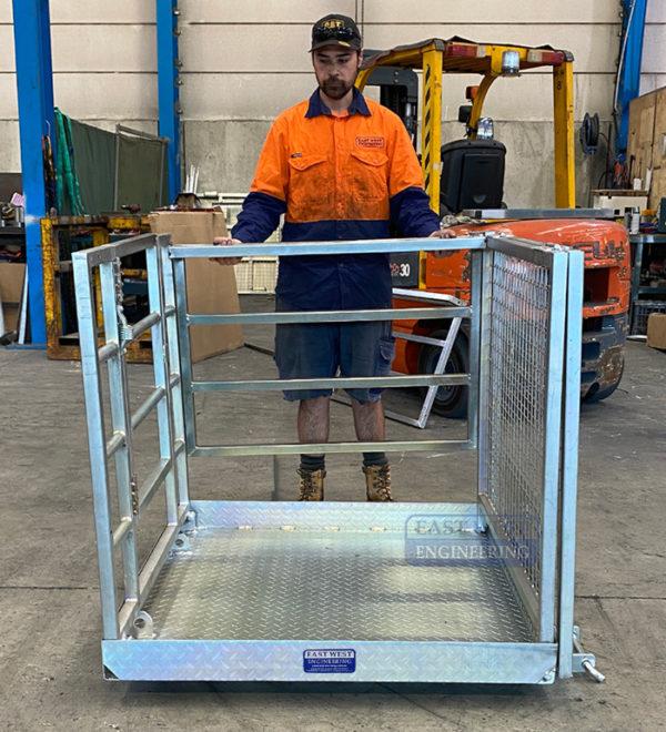 Collapsible Forklift Work Platform - FWP25C 5