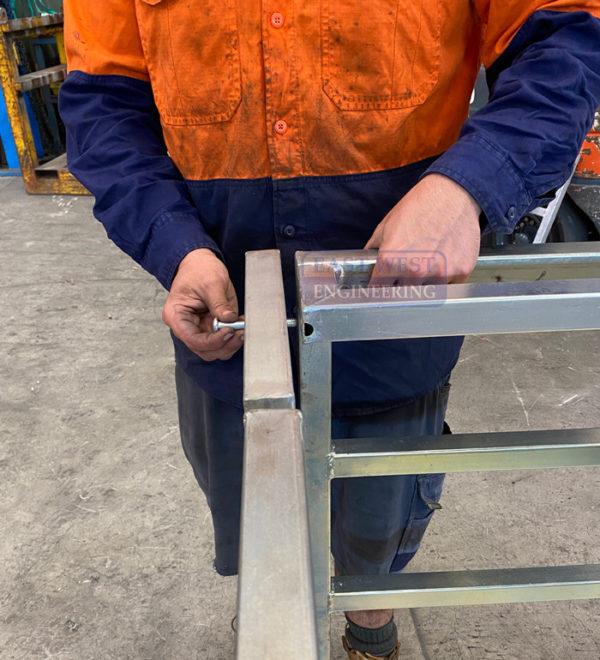 Collapsible Forklift Work Platform - FWP25C 6
