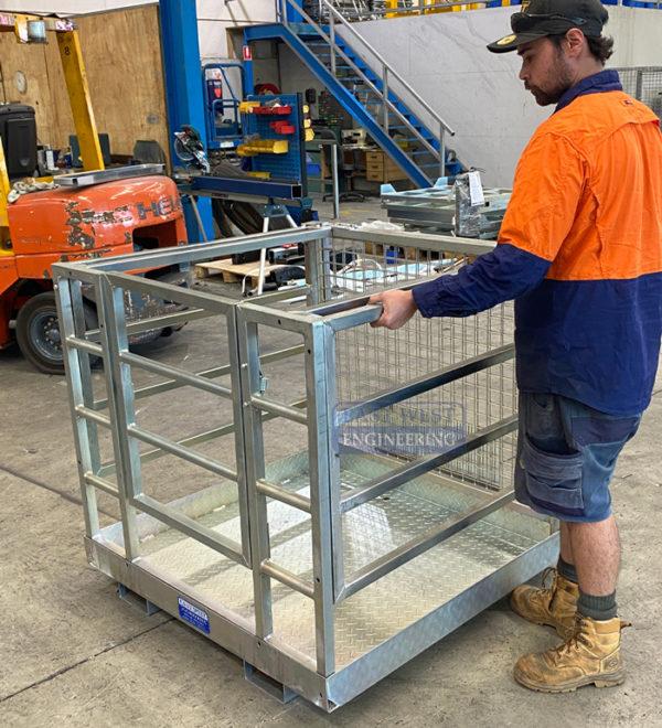Collapsible Forklift Work Platform - FWP25C 7