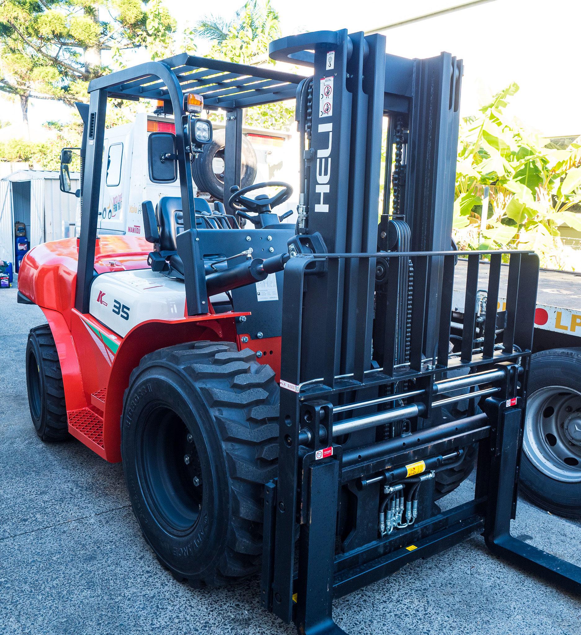 Forklift Hire Gold Coast